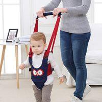 Hochwertige atmungsaktiv Designer Safety Walk-O-Long-Baby-Wanderer-Kleinkind-Kabelstränge, die Weg-behilfliche Kindwächter Baby andador Box Geschenk
