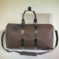 CARRY ON TÜM BANDOULlERE 55 50 45 CM Kadınlar Seyahat Çantası Erkekler Klasik Duffel Çanta Rolling Softsided Bavul Bagaj Seti N41145 M56714 M41414