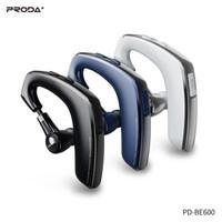 Telemóveis Auscultadores sem fio Earbuds Proda PD-BE600 Falar Mãos fone de ouvido grátis Fone de ouvido de cancelamento de ruído com microfone