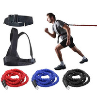 2- 5m Resistance Band Bungee Fitness Speed Trainer for Agilit...