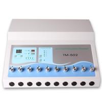 Máquina de emagrecimento TM 502 Qualidade superior Electro Estimulação EMS Massageador Microcurrent Muscle Stimulator