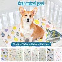 الكلاب الكلاب الحيوانات الأليفة الكلاب ماصة حصيرة امتصاص المياه حفاضات النوم سرير النوم الكلب الصغيرة قابلة لإعادة الاستخدام حفاضات البول جرو الوسادة