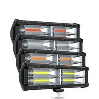 Winsun NUOVO COB CAR del lavoro della luce 144W 9Inch Bar luce del LED per auto trattore crogiolo fuori strada Off Road 4WD 4x4 camion SUV ATV Driving 12V 24V