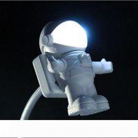 الجدة LED الفضاء الخارجي رائد فضاء USB LED ليلة ضوء التحول الإبداعية الليل الليل رائد فضاء USB بقعة ضوء