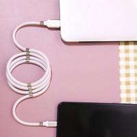 최고 품질의 빠른 자기 자체 케이블의 경우 이동 전화 자석 자동 흡착 케이블 유형 C MIRCO USB 충전기 코드 와이어 충전 USB의 C 권선