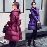 2020 Новые женские пальто зимой пуховые куртки женские длинные силовые теплые моды твердые причинные Parkas дамы верхняя одежда одежда W283