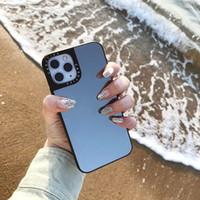 B38 مع جديد قلادة حالة سيليكون دائم ل iphone11pro ماكس مرآة الغطاء الخلفي الواقي
