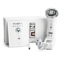 cilt gençleştirme sıkma yüz cilt için Mini HIFU yaşlanma Ev Kullan HIFU cihaz Yüz Germe Kırışıklık Temizleme Anti