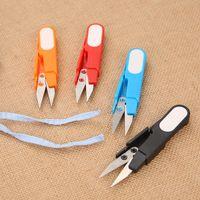 Fios Pesca Tópico Beading Clipper resistente Mini ferramenta inoxidável Alfaiate Tesoura Prático de costura bordado Thrum Snips Scissors VT0005