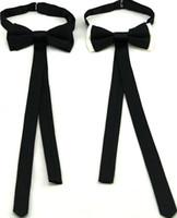 Cinta de lazo de lazo Bowknot de moda corbatas de moda para los hombres Butterfly Bow Bow Lazs adulto negro blanco accesorio de moda 2pcs / lot