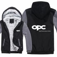 OPEL MOTORSPORT هوديس الرجال زيبر OPC الأداء CENTER معطف الصوف رشاقته رجل OPC البلوز البلوز DEZT #