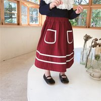 Quality Korean Style kids clothes girls skirt children ins P...