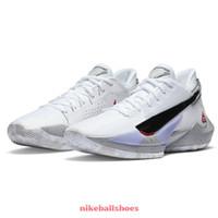 Barato novo zoom freak 2 branco cimento branco bamo naija giannis antetokounmpo sapatas de basquete para venda com caixa crianças sapatilhas tênis sapatos