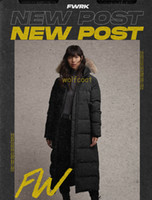 2020 Haut Parkas Hiver Femme Bas Veste Canada Vêtements pour femmes Manteau couleur Pardessus Veste parka nouvelle mode