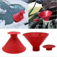 Funnel Ice Scraper Car Windshield Snow Scraper Outdoor Magic...