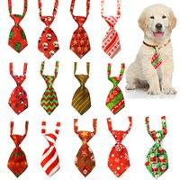 Noel Pet Köpek Kedi Noel Kravat Bowties Santa Geyik Köpek Giyim Bakım Aksesuarları Küçük-Orta Bağları lxj180 Malzemeleri
