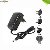 Adattatore per caricabatterie DC 12V 1A Power Adapter Alimentatore universale 100-240V AC parete della spina di UE standard Plug AS-12V1A