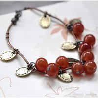 Armband Bangles For Women Fashion Sweet Cherry Vackra Bracelet Smycken Tillbehör Charm Armband