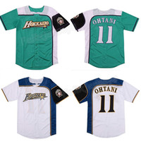 Shohei Ohtani # 11 Hokkaido Nippon HAM боевики бейсбол джерси фильм бейсбол джерси новая сшитая любое имя бесплатная доставка S до 3XL
