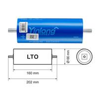 Бесплатная доставка DIY 12V 24V 36V 48V 2.3V 66160 40AH 35AH 30AH LTO Lithium Titanate Cellate