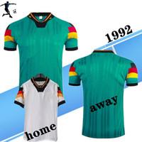 Top 1992-94 Германия Домашняя рубашка 94 Ретро Футбол Джетки Klinsmann Völler Sammer MOLLER MOTTHAUS 92 93 94 Классические футболки
