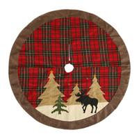 شجرة عيد الميلاد الديكور حزب السجاد الحلي عيد الميلاد الديكور للمنزل غير المنسوجة عيد الميلاد زينة