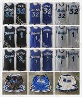 Penny 1 Hardoway Tracy 1 McGrady Shaquille 32 Oneal Retro Blue Camisas Preto Jersey Mohamed 5 Bamba HardwoodsJersey de basquete clássicos.