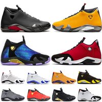Nike Air Jordan Retro 14  Novos Jumpman XIV 14 Mens Luxo tênis de basquete 14s Gym Red Outdoor Retro Trainers Atletismo Sports Sneakers Big Size Eur 47