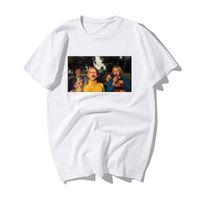 Stay tuned Herren T-Shirt der lustigen Männer-Druck-T-Shirt-Sommer-beiläufige Qualitäts-Baumwolle Kurzarm-T-Shirt Hip Hop Street