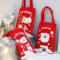 2020 Новогоднее украшение Сочельник дети Дети мешок подарков Apple, конфеты Tote Сумки Xmas Праздничные праздничные атрибуты