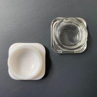 Cosmético Concentrado Extract Dab recipiente de vidro de embalagem 5ml 7 ml 9 ml frasco de vidro premium Food Grade de Vidro Grosso armazenamento Wax Prova Cheiro