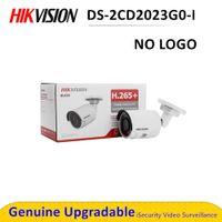 DS-2CD2023G0-I Smart Открытая камера 2MP Poe Security IP-камера Нет логотиповой эпиднадзор Сирена тревоги наблюдения Сирена тревоги