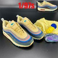 2020 أعلى جودة شون Wotherspoon × 1 / 97S VF SW الهجين رجل قوس قزح الفتيل قفص تشغيل الأحذية النسائية أزياء بالجملة ردور حذاء رياضة