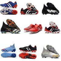 الحيوانات المفترسة الحيوانات المفترسة 20+ Mutator هوس FG المعذب الرجال لكرة القدم أحذية chaussures الانتقام دي القدم في الهواء الطلق لكرة القدم المرابط الحجم 6،5 حتي 11