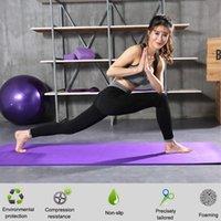 1830 * 610 * 10mm NBR Yoga Mat Non Slip Tapete Fitness Ginástica Ambiental Mats Pilates Gym Esportes Exercícios de Esportes para Iniciante