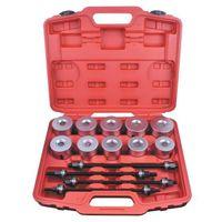 Winsun Handwerkzeuge 24PCS Universal Press And Pull Sleeve Kit Bush Bearing Removal Insertion-Werkzeug-Set