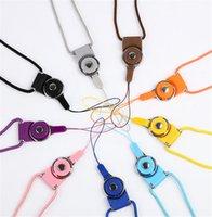 Lanyards Universal Neck Lanyard longo cintas de nylon Pendure Corda para Mp4 MP3 ID titular do telefone móvel Mobile Phone Celular cordão pendurar corda