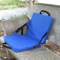 المحمولة التخييم وسادة كرسي كرسي خفيف الوزن مسند مقعد في الهواء الطلق WHShopping