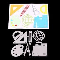 Taglio School Supplies sportivi Ball Games fai da te metallo muore Stencil dell'album della carta dell'album carta goffratura Crafts Dies taglio