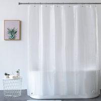 اكسسوارات الحمام حمام الستار الثقيلة 3D إيفا واضح دش الستار اينر مجموعة للحمام ستائر مقاوم للماء