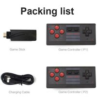 USB Wireless Handheld TV Game Box Controller 4K HDMI Game Console Gamepad for Most TVs Interface Accessories