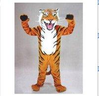 20188 nuevo encargo profesional gato tigre de bengala cabeza de la mascota traje traje de Halloween EMS libera el envío