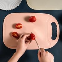 Chopping bloqueia a luz Mildew prova Cheiro do Ralo Bread Fruit Tábua Household Conveniente Tábua de Cozinha Suprimentos VT1559