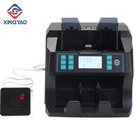 UV / MG / IR / DD 100-240V Широкое напряжение переднего нагрузки денежный счетчик USD EUR PERU CANADIN BillnoTe Counting Machine