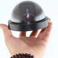 Falso Manequim Camera LED Câmera Dome CCTV Simulado Segurança Video Signal Generator Home Security Fontes YFA2285
