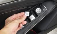 Fenêtre voiture verre bouton Prélever Garniture couverture Autocollant Fit Mercedes Benz A / B / C (W204) / E (W212) / GLA / CLA / GLK / GL / ML / GLE-Class