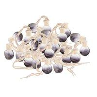 Süsleme Ev Dekorasyonu topu Asma 25pcs 10ml Boş Parfüm Şişesi kolye Araba