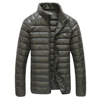 2020 가을 캐주얼 재킷 남성 초경량 겨울 따뜻한 파카 코트 방수 경량 화이트 다운 오리 재킷 남성 착실히 보내다 6XL