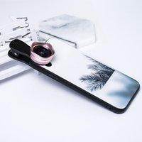 3 in1 largamente angular macro fisheye lente câmera lentes de telefone celular peixes olho lendes para iPhone smartphone microscópio