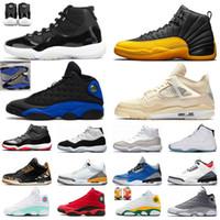 Basketball Shoes dos homens Formadores 5s 2020 Fire Red TOP 3 11s Branca Bred Concord azul metálico de prata 12s reversa gripe Jogos de Esportes Sneakers